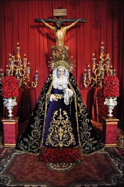 Besamanos Virgen de las Aguas de la Hermandad de las Aguas, Sevilla 2012 (1)